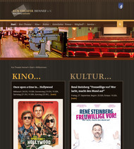 Corporate Design für das Kur-Theater Hennef